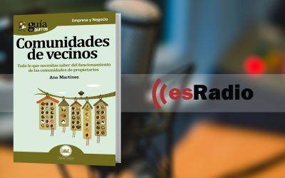 Entrevista a Ana Martínez, autora del GuíaBurros: Comunidades de vecinos, en Mundo Emprende, esRadio
