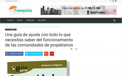 Enfranquicia, el portal de formación e información, habla del GuíaBurros: Comunidades de vecinos